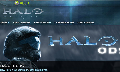 Halo Game Website