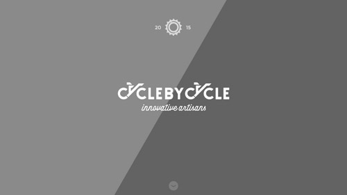 bicycle single website design