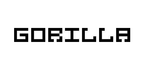 gorilla pixel font