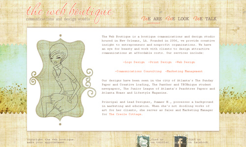 the web boutique