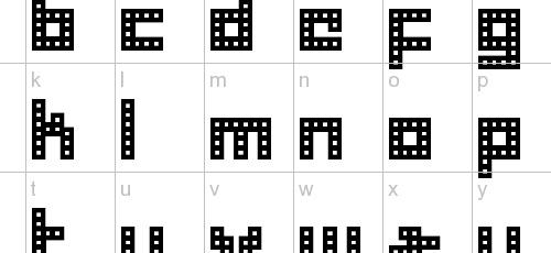 herder pixel font
