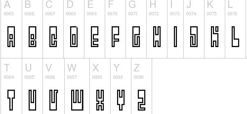utopia pixel font