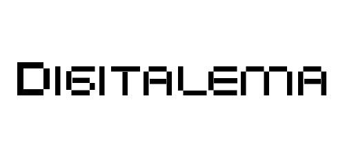digitalema pixel font