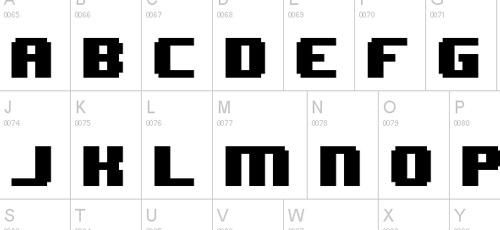 wonder pixel font