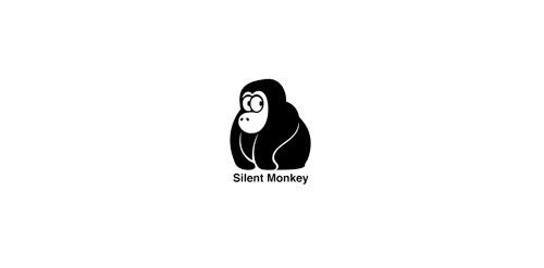 Silent Monkey Logo