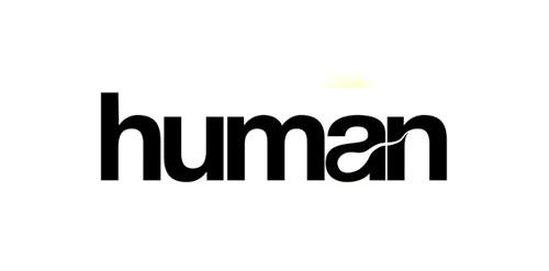 Logo for 'Human'