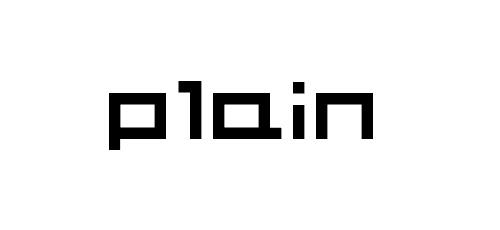 plain pixel font