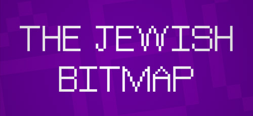 free commercial jewish bitmap font