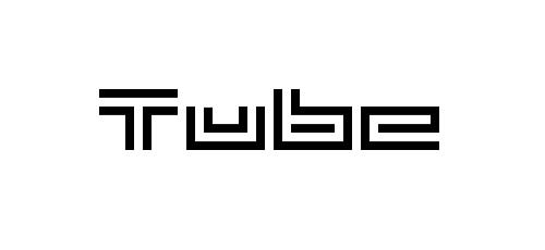 new tube pixel font