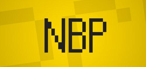 free nbp font bitmap