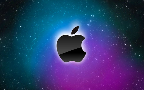 space apple wallpaper