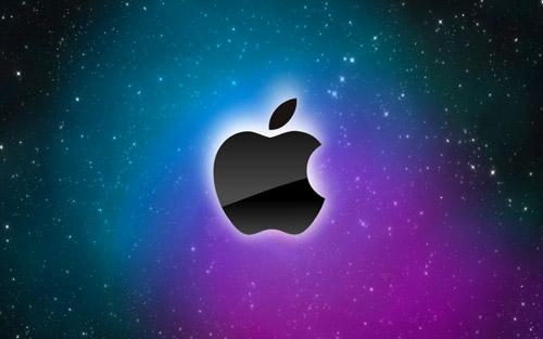 space apple wallpaper