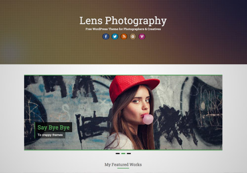 photography theme wordpress