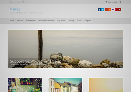 simple wordpress photography