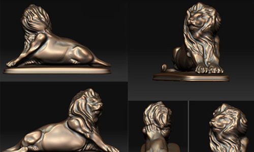 intricate lionx