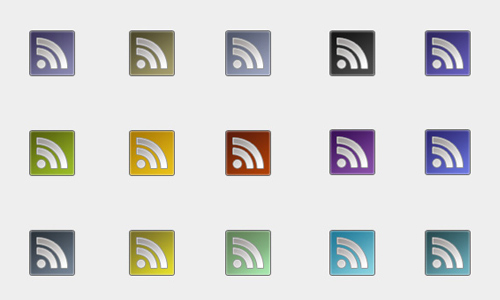 64 pixel rss icons