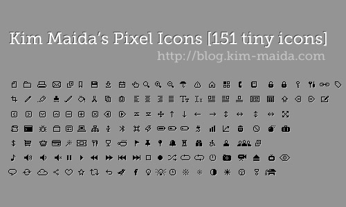free pixel icons