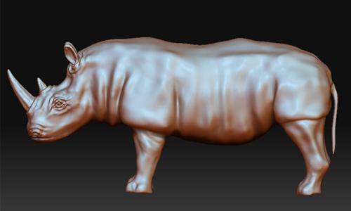 poly rhinoceros