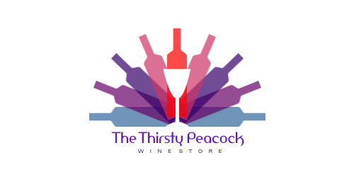 TheThirsty Peacock Logo