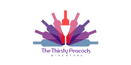 TheThirsty Peacock Logo
