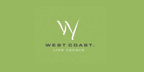West coast church logos designs
