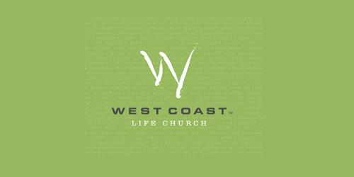West coast church logos designs