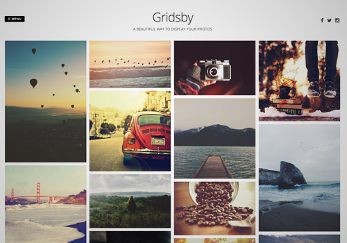 grid free photoblog