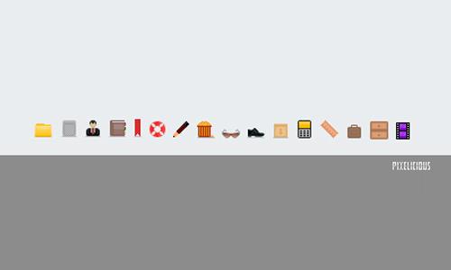 pixelicious icons