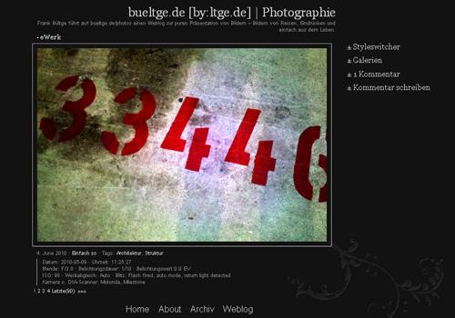 photoblog theme fuer