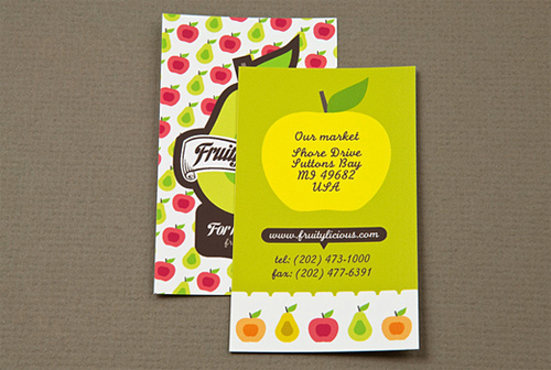 graphic farmer business card