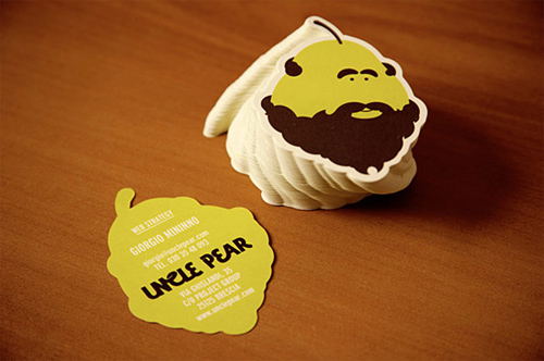 uncle pear  business card