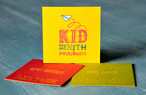 zenith business card
