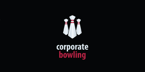 bowling corporate logo design