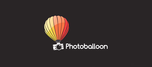 cute photo logo
