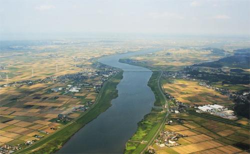 farmlands aerial photography