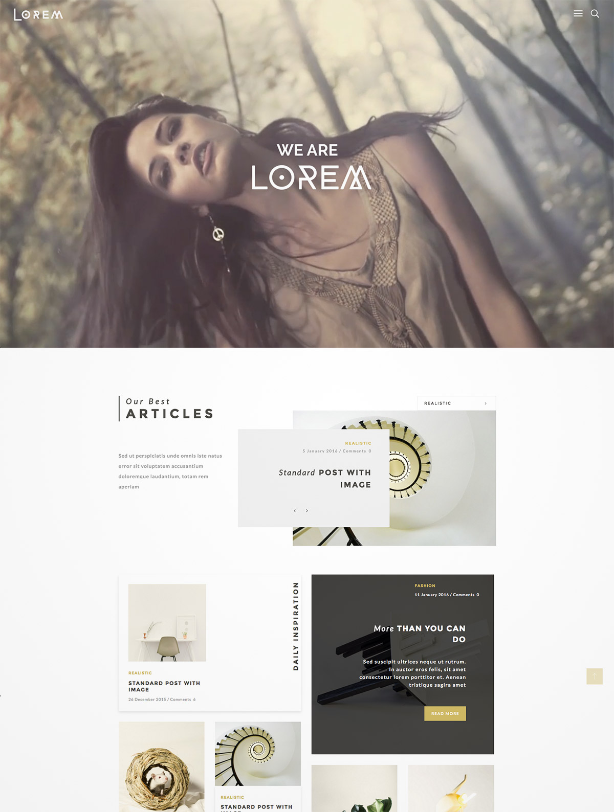 video header wordpress theme