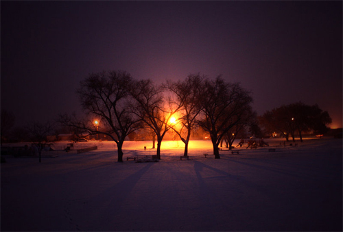 peaceful night night photography