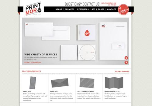 website slideshow design