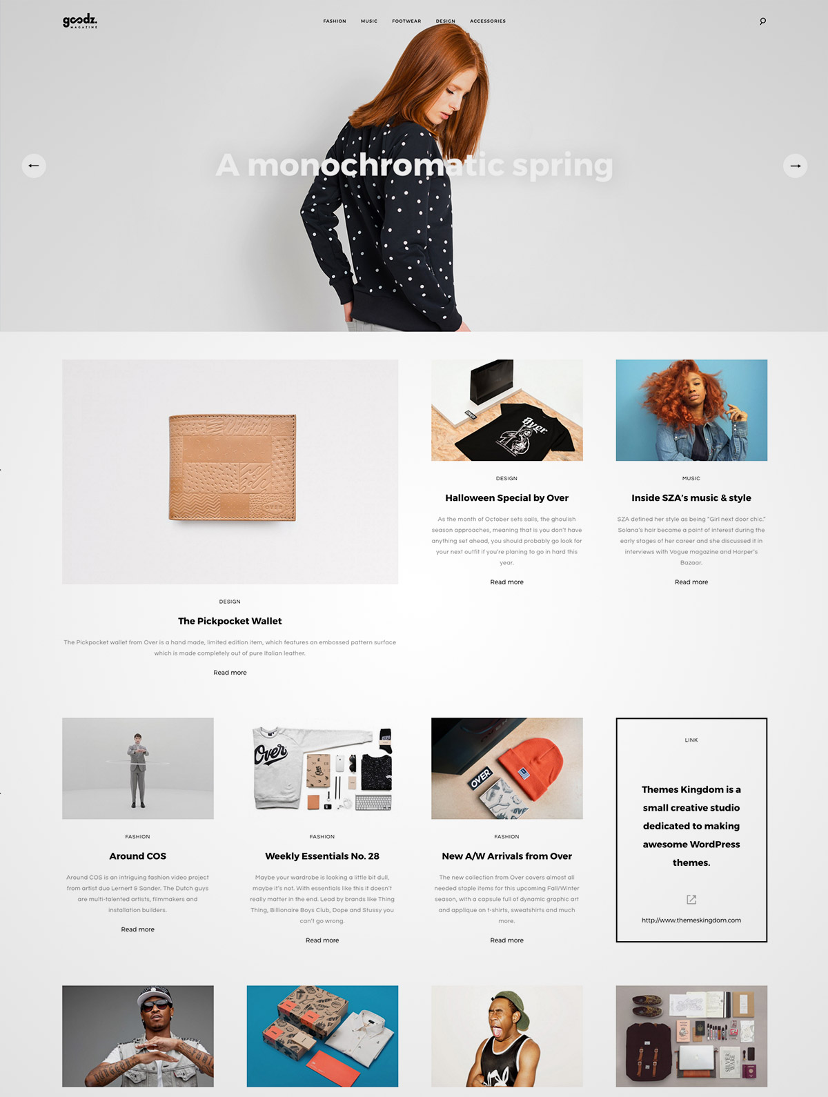 wordpress theme magazine