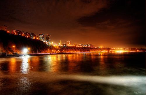 breeze coast night photography