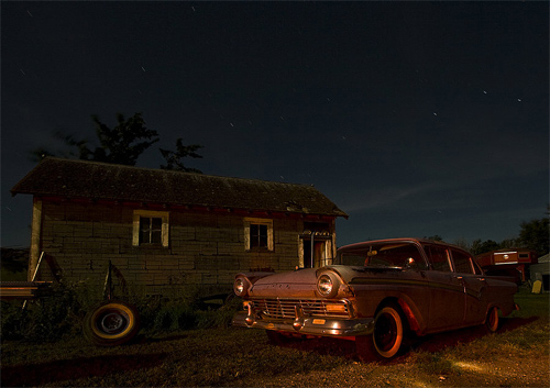 hillbilly night photography