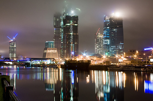 moscow night photography