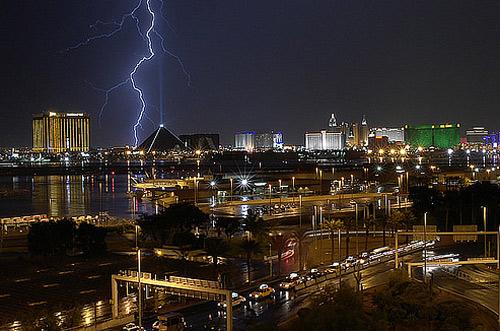 lightning night photography