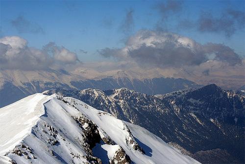 snowmounts aerial photography