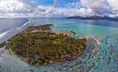 paradise aerial photography