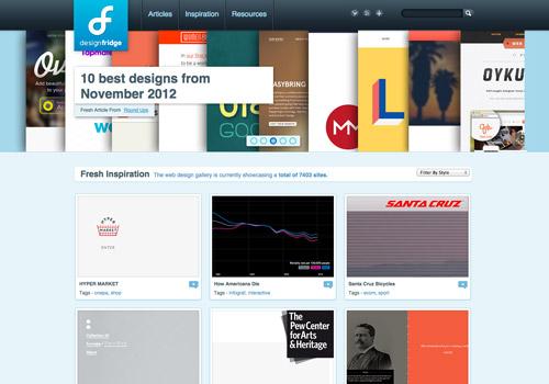 vertical slideshow web design