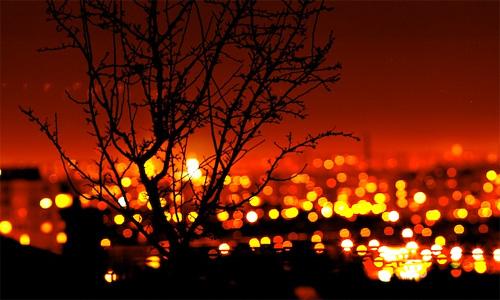 city lights night photography