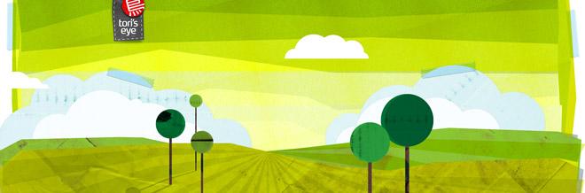 Web Design Inspiration: 40 Green Themed Websites