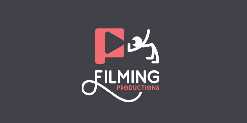 filming productions logo design