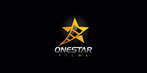 One Star Films logo design